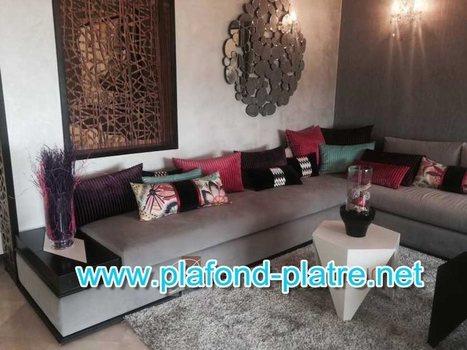 Canapé de salon marocain moderne 2015 - ...