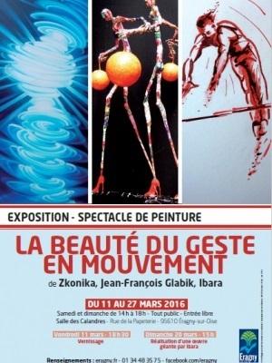 Exposition La Beauté Du Geste En