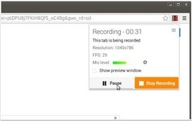 3 Powerful Screen Recording Tools for Chrome Users | Online & Blended Learning | Scoop.it