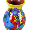 Michoacan Hand Painted Vase