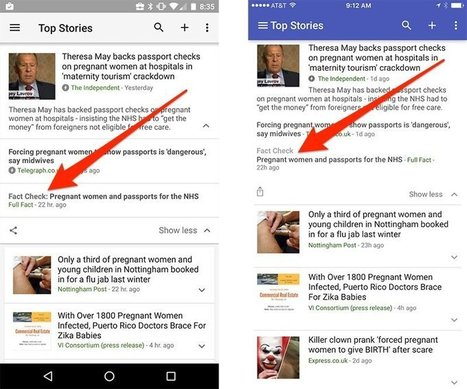 Google added a fact-check feature to help you tell if news stories are accurate   The Spirit of the Times   Scoop.it