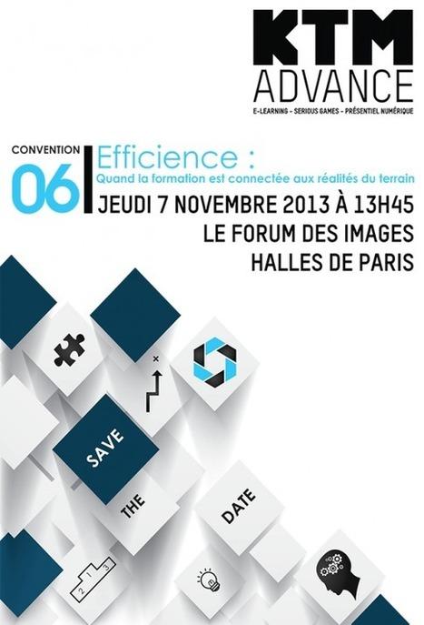 KTM Advance Actualités- Save The Date 6e Convention KTM Advance 07/11/2013 Forum des Images - Paris | Elearning & Serious Game | Scoop.it
