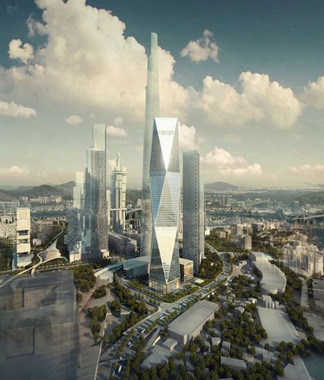 Case Study in Efficiency:  SOM's Diagonal Tower in South Korea | The urban.NET | Scoop.it