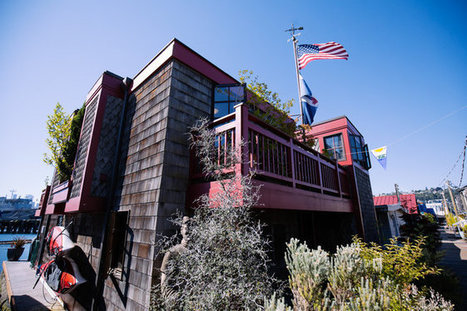 Seattle Refined: Tour a wooden Lake Union houseboat | Eye on concepts | Scoop.it