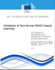 Validation of Non-formal MOOC-based Learning: An Analysis of Assessment and Recognition Practices in Europe (OpenCred). | e-learning-ukr | Scoop.it