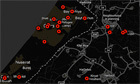 Gaza-Israel crisis 2012: every verified incident mapped | Jewlearn-it Magazine | Scoop.it