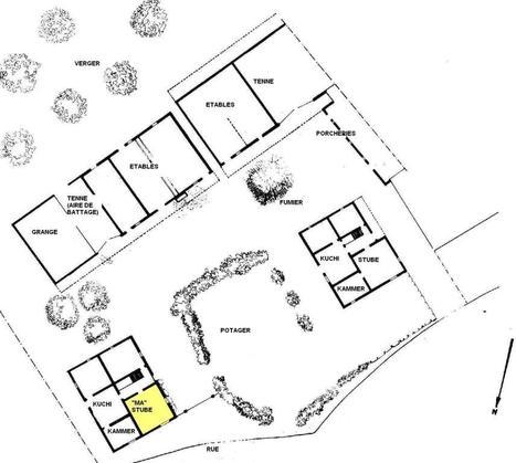 plan de maison kabyle