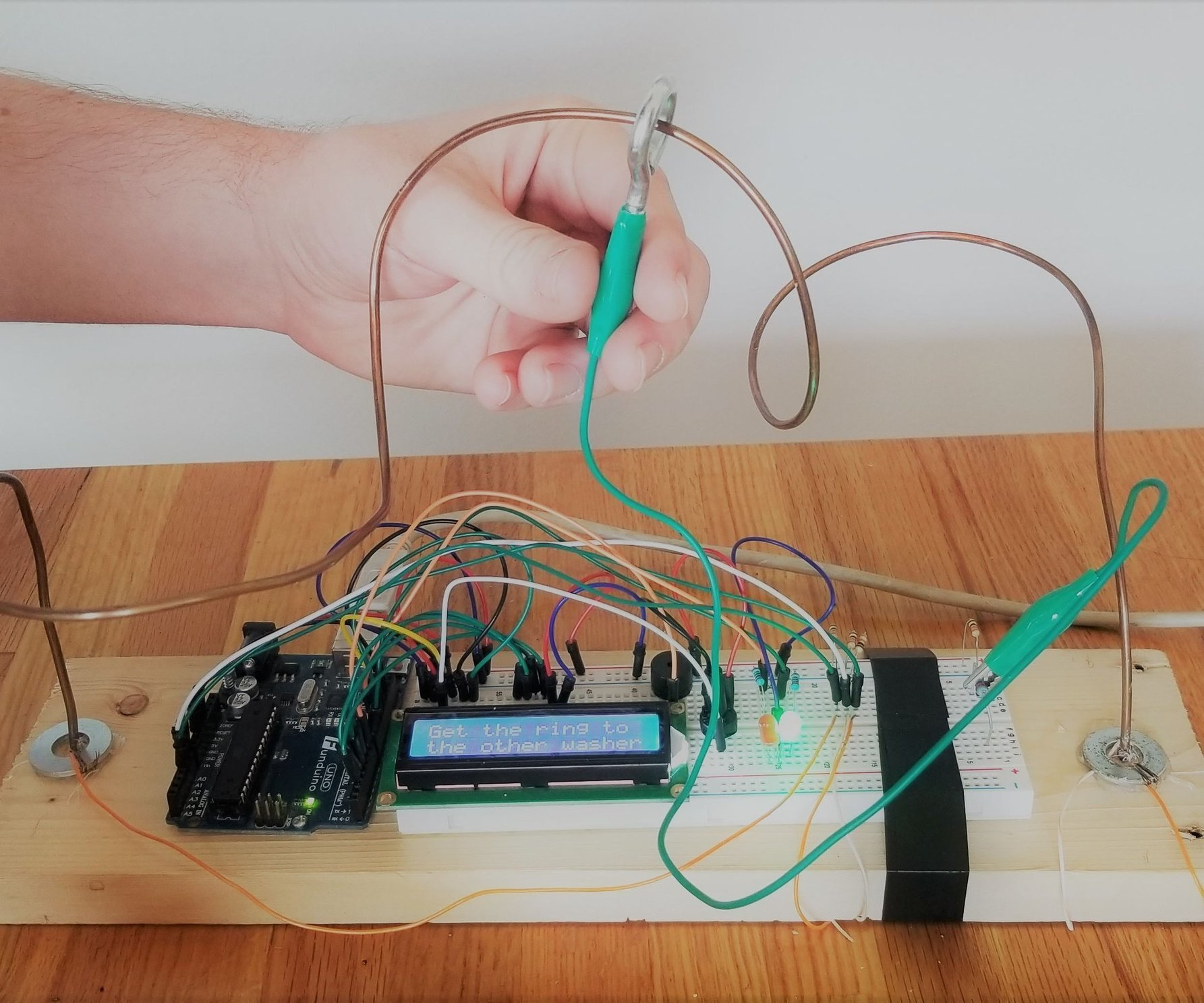 Buzz Wire Scavenger Hunt Clue 7 Steps With Pi Free Ebook Starting The Electronics Hobby Electronicslab