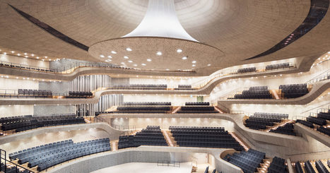 What Happens When Algorithms Design a Concert Hall? The Stunning Elbphilharmonie | Futurewaves | Scoop.it