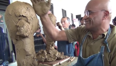 Two professors sculpt each other in less than ten minutes | The Kid Should See This | TIKIS | Scoop.it