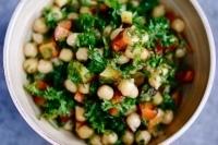 Salade de pois chiches, racines grillées, citronnée etpersillée | Légumineuses | Scoop.it