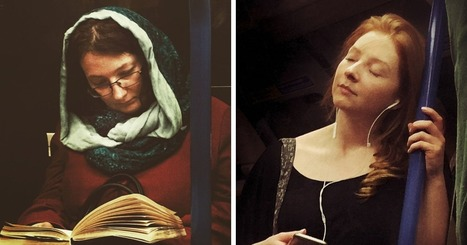 Guy Secretly Shoots Subway Passengers As 16th-Century Paintings | Organic Pathos | Scoop.it