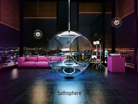 BATHSPHERE – Bathroom Concept by Alexander Zhukovsky | The promised land of technology | Scoop.it