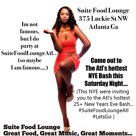Great Food, Great Drink & Great Moments (SuiteFoodlounge, ThePlaceToBe...) #SuiteFoodLounge #AtlEvents #NYEAtl | GetAtMe | Scoop.it