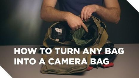 Safely Use Any Bag as a Camera Bag | Bazaar | Scoop.it