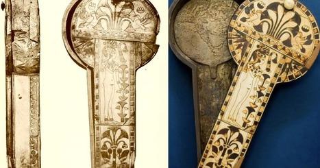 Un étui à miroir en sycomore ivoire, merveilleux accessoire d'une reine... | Centro de Estudios Artísticos Elba | Scoop.it