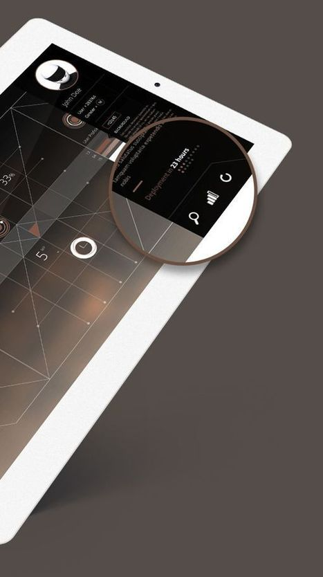 Dashboard Concept by Rodrigo Alberto Cavazos, via Behance   WebDesign   Scoop.it