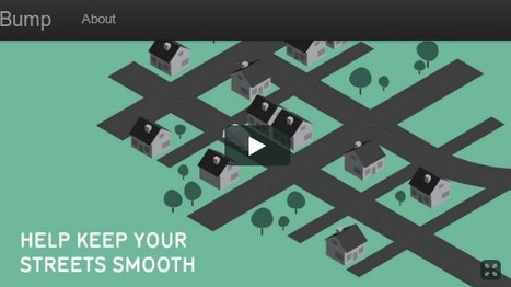 Street Bump | Emergent Digital Practices | Scoop.it