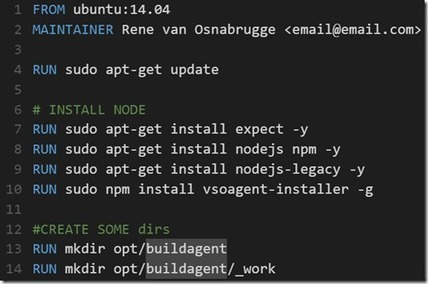 Running a Visual Studio Build vNext agent in a Docker container | Visual Studio ALM | Scoop.it