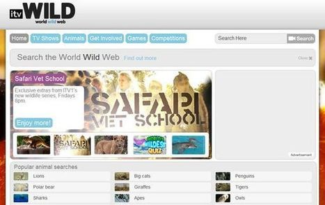 Itv Wild, vídeos de fauna y naturaleza para estudiantes de primaria | Notícias TICXEDU | Scoop.it