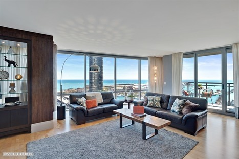 New to the Market: Luxury Living @ 450 E Waterside, Unit 1702 $1.55M | Chicago Housing Market News Reports | Scoop.it