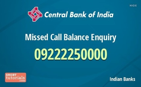 united bank of india balance enquiry missed call