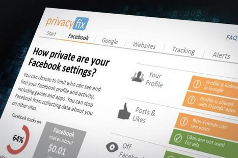 PrivacyFix Chrome plugin reveals what you're worth to Facebook, Google | Digital Trends | Djalem Social Media | Scoop.it