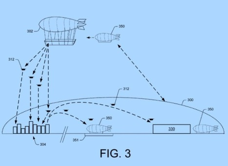 Amazon patents show flying warehouses that send delivery drones to yourdoor | e.cloud | Scoop.it