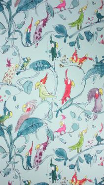 papier peint osborne & little\' in Tissu d\'ameublement, art textile ...