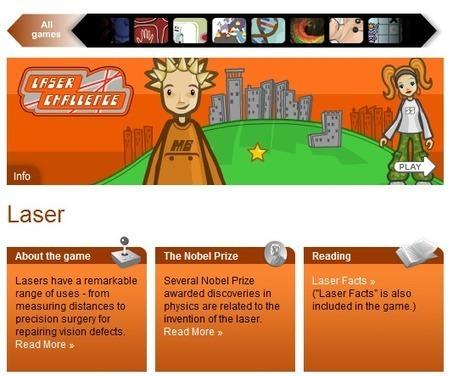 NobelPrizeGames: Juegos educativos para que los niños aprendan ciencia | Educación, Tic y más | Scoop.it