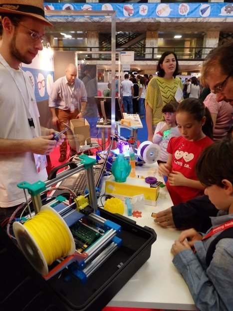 Sabine Blanc – Maker Faire Rome : formater la révolution | FabLabs & Open Design | Scoop.it