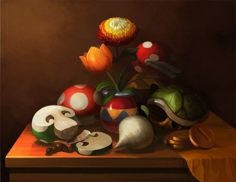 A Mario Still Life Art Print You Have To See | Geek On | Scoop.it