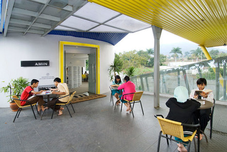 dpavilion architects: amin shipping container library | Digital information and public libraries | Scoop.it