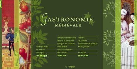 Gastronomie médiévale à l'exposition virtuelle de la Bibliotheque nationale de France   ENT   Scoop.it