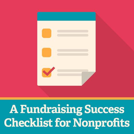 check list for nonprofits