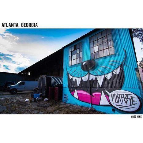 Bieber, former #busker's #graffiti of Purpose #purposealbum #streetiam #justinbieber - Street I Am   busking   Scoop.it