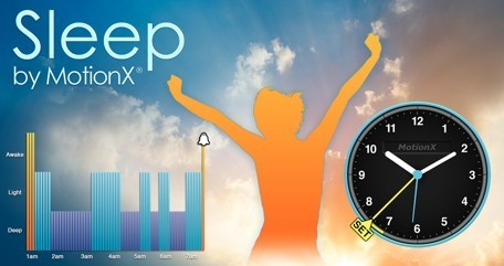Daily iPhone App: Sleep by Motion X helps you make the most of ... | Perfecting the Science of Sleep | Scoop.it