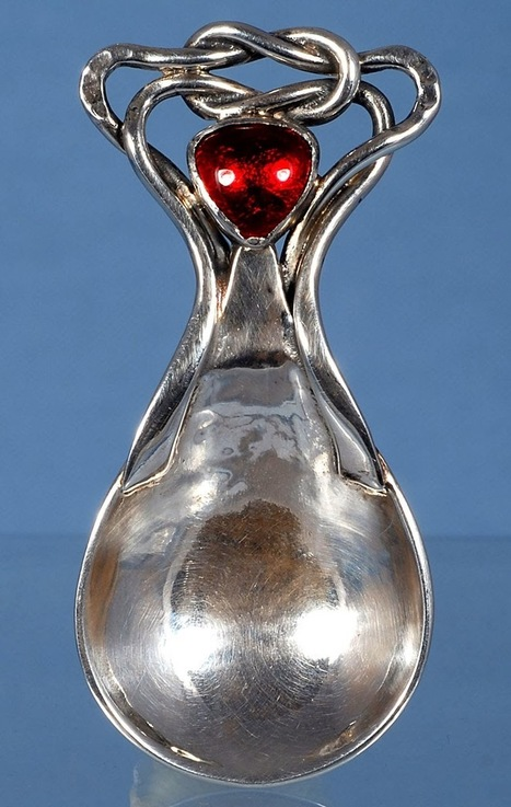 My Antique World: The object of the day: Caddy spoon by Omar Ramsden | Antique world | Scoop.it