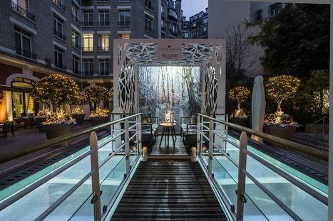 Jardin d'hiver éphémère du Royal Monceau   Jet-lag, le magazine féminin de voyage   Scoop.it