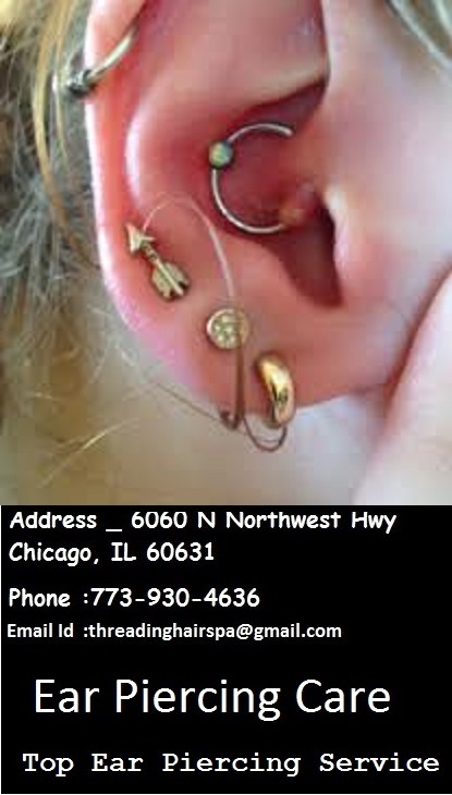 Ear Piercing Near Me Ear Piercing Care Salon In Threading