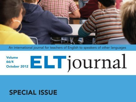 ELT Journal: Special Issue | Learning Languages made funky | Scoop.it