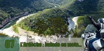 Ardèche : balade en moto … | Voyages et balades à moto | Scoop.it