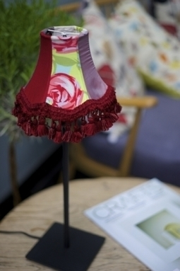 Artwork: Small lampshade and base - Open House Art | Art - Crafts - Design | Scoop.it