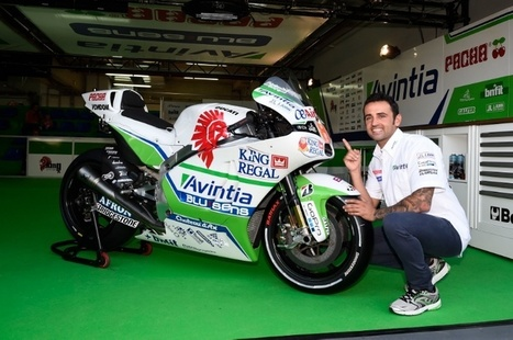 MotoGP: New Avintia Ducati ready for Aragon - crash.net | Desmopro News | Scoop.it
