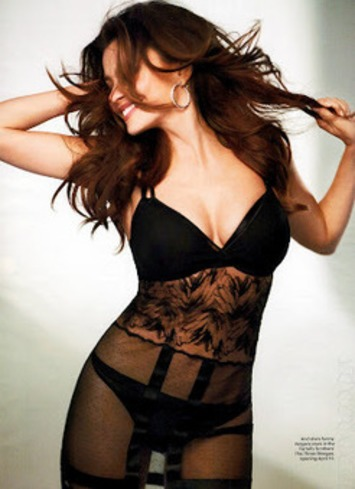 Sofia Vergara In Black Lingerie In Esquire | Lingerie Love | Scoop.it