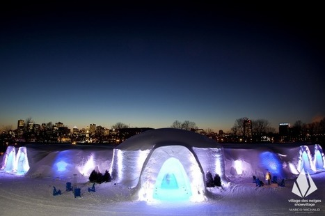 Oh Montreal! Snow Village opens Ice Hotel and bar with ice-cold ... | Local Montreal Scene | Scoop.it