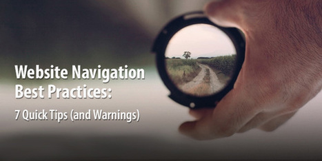 Website Navigation: 7 Best Practices, Design Tips and Warnings - Orbit Media Studios | Website Pages Advice | Scoop.it