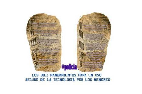 """La """"tablet"""" con los 10 mandamientos para un uso seguro de los gadgets que han regalado los Reyes Magos a los menores españoles   Noticias, Recursos y Contenidos sobre Aprendizaje   Scoop.it"""
