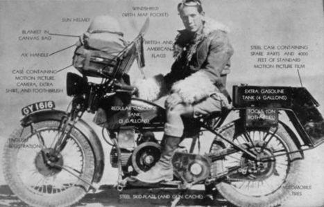 One man caravan : les débuts de l'aventure à moto | Voyages et balades à moto | Scoop.it