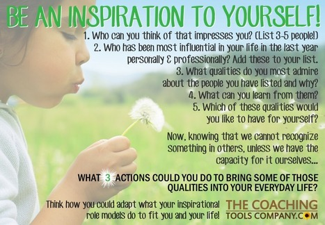 Be an Inspiration to Yourself! (Infographic For You to Enjoy) - The Launchpad | All About Coaching | Scoop.it